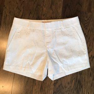 Banana Republic white trouser shorts sz. 6